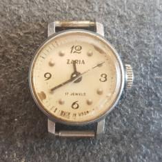 Pentru colectionari, ceas mic rusesc Zaria 17 Jewels, nu functioneaza