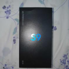 Galaxy S9 64GB 4GB RAM ca nou cu accesorii originale la cutie, Negru, Neblocat