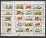 1983 LP 1084 a FLORA SI FAUNA REZERVATII NATURALE EUROPA PERECHE BLOCURI MNH, Nestampilat