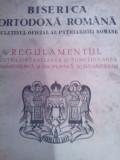 Carte veche bisericeasca .Regulamentul pentru functionarea Manastirilor An 1953