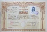 DIPLOMA DE BACALAUREAT - BUCURESTI, 1930