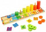 Numaratoare cu discuri colorate - BigJigs, BigJigs Toys