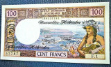 prima semnatura (1972) --> Noile Hebride 100 Francs bancnota UNC
