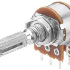 Potentiometru rotativ 1M, liniar, stereo - 161072