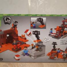 NOU/SIGILAT - Set de 287 piese tip lego Minecraft My World LELE 33190