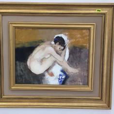 Emanuil Mazilu - Nud , ulei pe carton 30 x 45 cm, Altul