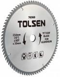 Disc circular cu vidia pentru aluminiu 210x30x60T, 76540