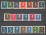 Romania.1944/45 Regele Mihai I  filigran MM  XR.100, Nestampilat
