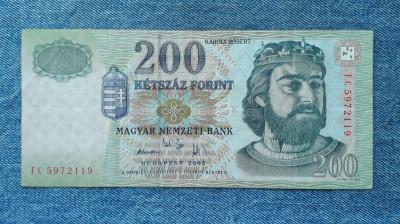 200 Forint 2005 Ungaria foto