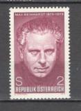 Austria.1973 100 ani nastere M.Reinhardt-regizor de teatru  MA.203, Nestampilat
