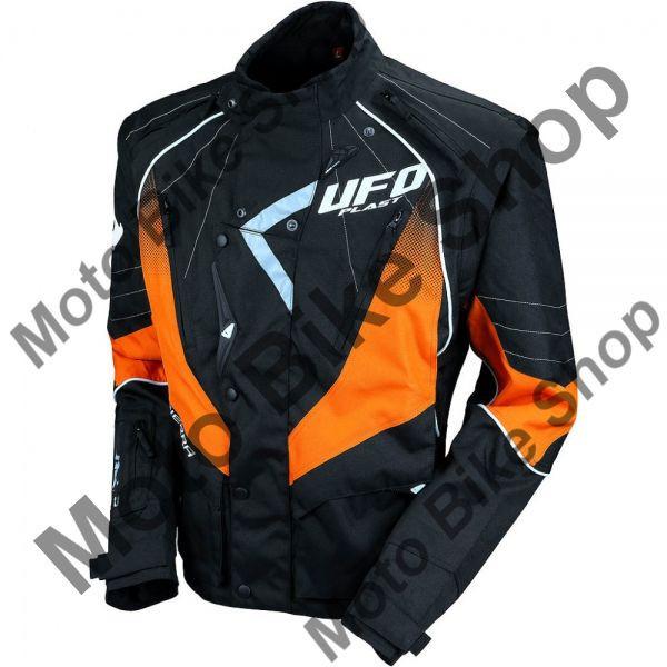 MBS Geaca enduro Ufo Plast Sierra,negru/portocaliu, M, Cod Produs: GC04439FM