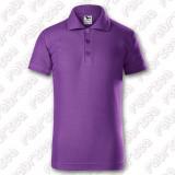 Tricou polo Pique pentru copii culori diferite