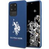 Husa TPU U.S. Polo pentru Samsung Galaxy S20 Ultra G988 / Samsung Galaxy S20 Ultra 5G G988, Bleumarin USHCS69SLHRNV