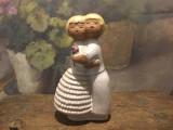 Arta / Decor - Figurina deosebita indragostiti / ceramica design Edit Risberg !