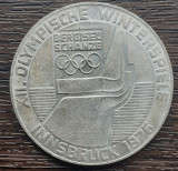 (A829) MONEDA DIN ARGINT AUSTRIA - 100 SCHILLING 1976,  JOCURILE OLIMPICE, Europa