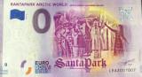 !! 0 EURO SOUVENIR - FINLANDA , SANTAPARK ROVANIEMI , CERCUL POLAR - 2019.2- UNC