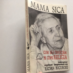 MAMA SICA/ ANASTASIA POPESCU- CUM SA-I INVATAM PE COPII RELIGIA. ANASTASIA 1995