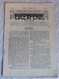 REVISTA LUCEAFARUL - LUCEAFERUL - ANUL 1 - NR.4 - 15 AUGUST 1902 - BUDAPESTA