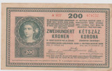 BILET CU VALOARE NIMINALA A  CIRCULAT IN ZONA FRONTULTI ROMANESC 27 OCT 1918