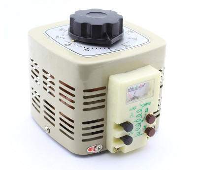 Autotransformator variabil, 500W, voltmetru analogic, TDGC2 - 111140 foto