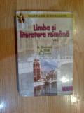 X Limba si literatura romana pentru clasa a VIII -a - N. Erceanu