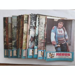 Lot 24 reviste REBUS FLACARA 1985 / C1 rev P