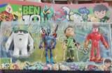 Set 4 figurine  Ben 10   7323F39