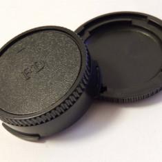 Objektivdeckel-gehäusedeckel-set pentru canon eos fd-systeme, ,