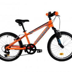 Bicicleta Copii Dhs 2023 Portocaliu Negru 20