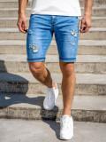 Cumpara ieftin Pantaloni scurți de blugi bleumarin Bolf KG3802