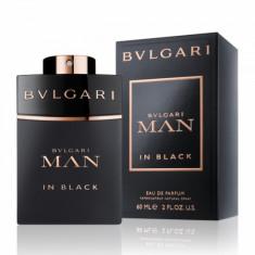 Apa de parfum Barbati, Bvlgari Man in Black, 60ml, 60 ml
