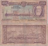 1956 ( 15 VIII ) , 20 escudos ( P-87 ) - Angola