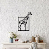 Cumpara ieftin Decoratiune pentru perete, Ocean, metal 100 procente, 45 x 60 cm, 874OCN1037, Negru