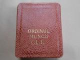 Ordinul Muncii, cl. II, cutie, impecabil