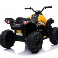 Atv Quad electric Tiger Bike Trendmax pentru copii galben 35W
