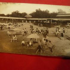 Ilustrata Lacul Sarat Braila - Plaja 1929