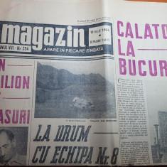 Magazin 18 iulie 1964-articol si foto despre orasul bucuresti,gara fetesti