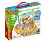 Cumpara ieftin Puzzle Quercetti Montessori - Giro