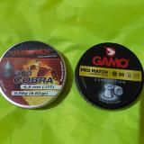 1000 ALICE PELETE CAPSE 4.5 MM ( 500 COBRA UMAREX + 500 PRO MATCH GAMO )