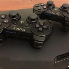 PS3 slim modat 500Gb excelent Playstation 3  GTA 5, Fifa 19, Minecraft 30 jocuri