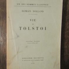VIE DE TOLSTOI-ROMAIN ROLLAND