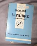Sociologie de la politique/ Gaston Bouthoul