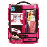 Papusa Barbie Fashionistas, 2 rochii, 3 perechi pantofi, 3 ani+