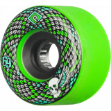 Set 4 roti Longboard Powell Peralta Snakes 69mm green