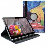 Husa pentru Huawei MediaPad T3 10, Piele ecologica, Multicolor, 43414.09