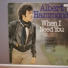 Albert Hammond – When I Need You (1977/CBS/RFG) - VINIL/Vinyl/