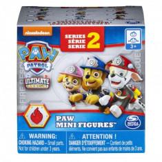 Mini figurina in cutie surpriza Paw Patrol Ultimate Rescue Salvarea suprema Seria 2