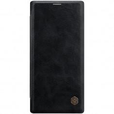 Husa telefon Flip Book Samsung Galaxy Note 10+ n975 Black Qin Leather Nilkin