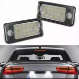 Lampi LED numar DEDICATE AUDI A3 A4 A6 A8 Q7 RS4 RS6 S3 S4 S8