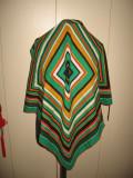 Cumpara ieftin Esarfa lina fina, model hipnotic, Multicolor, Lana